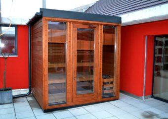 Inua custom outdoor sauna Dissenhofen
