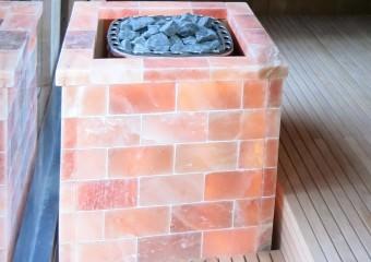 Sauna Heater with Salt Cover - Wiesbaden:Germany